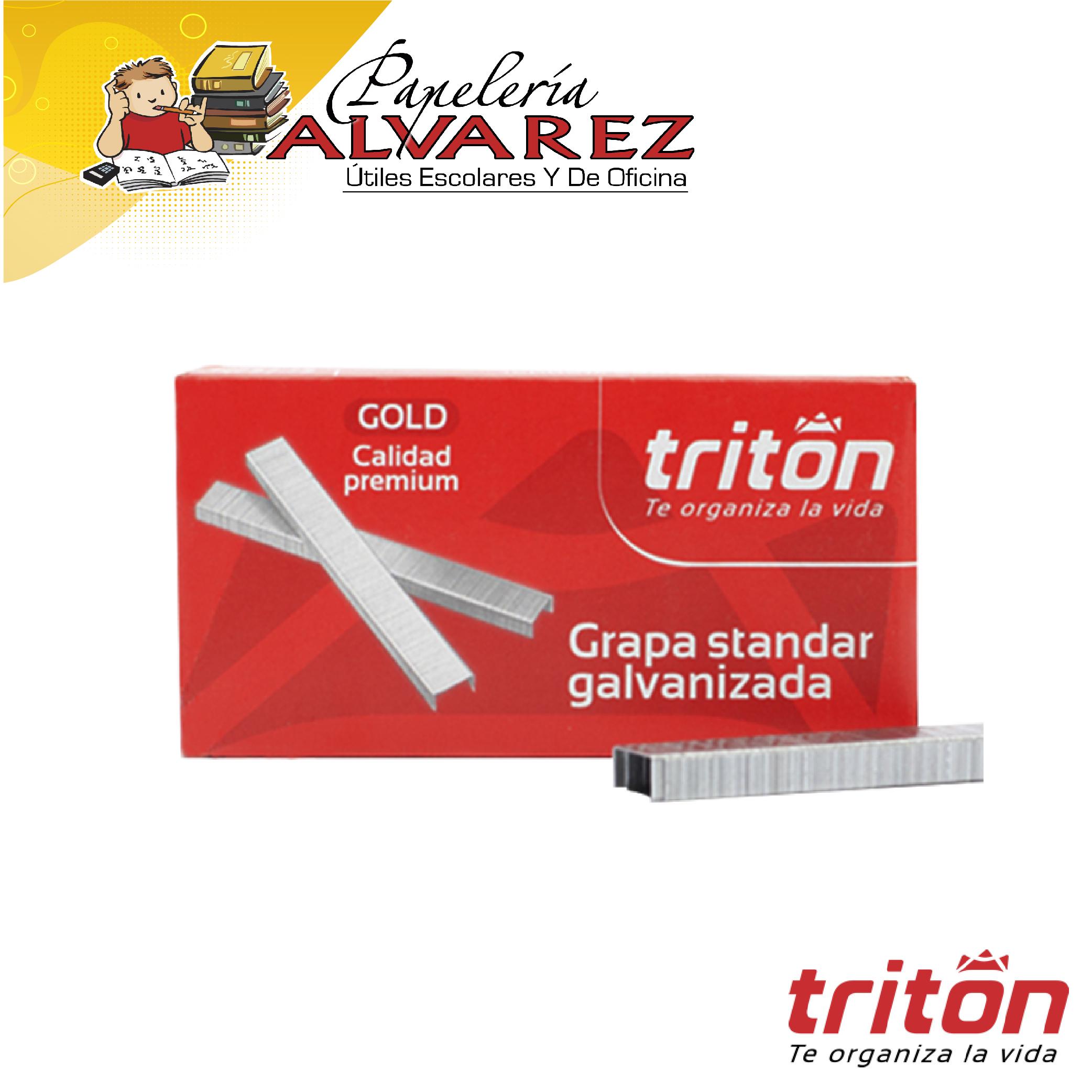 GRAPA COSEDORA TRITON GALVANIZADO X5000
