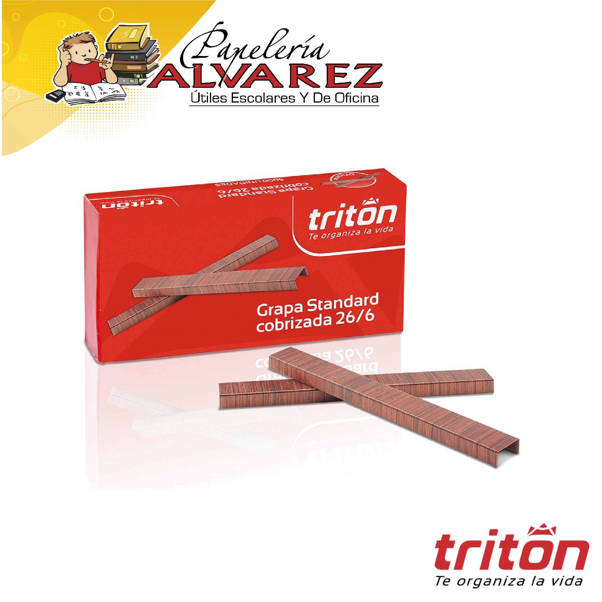 GRAPA COSEDORA TRITON COBRIZADO X 5000