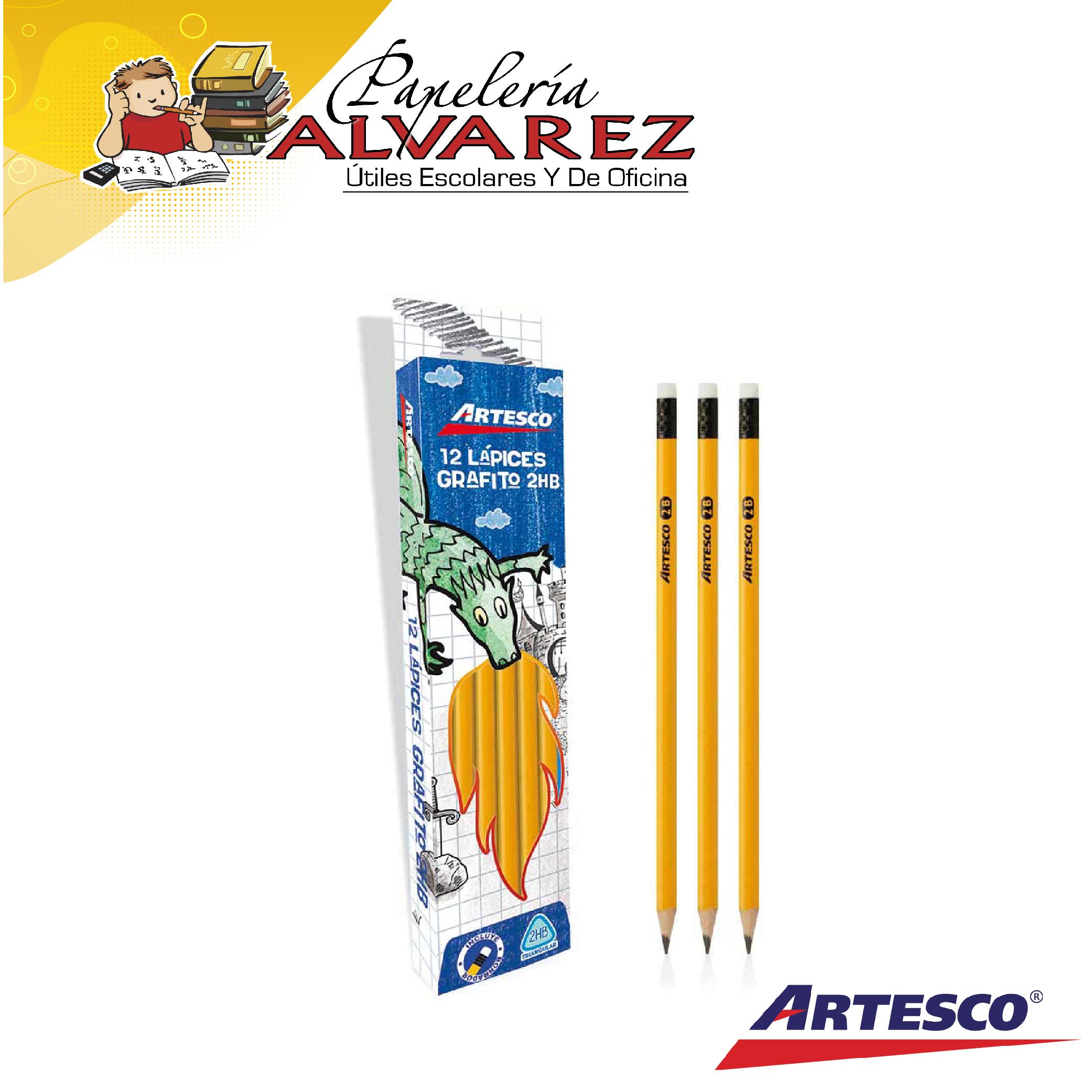 LAPIZ ARTESCO AMARILLO TRIANG #2 HB UNID
