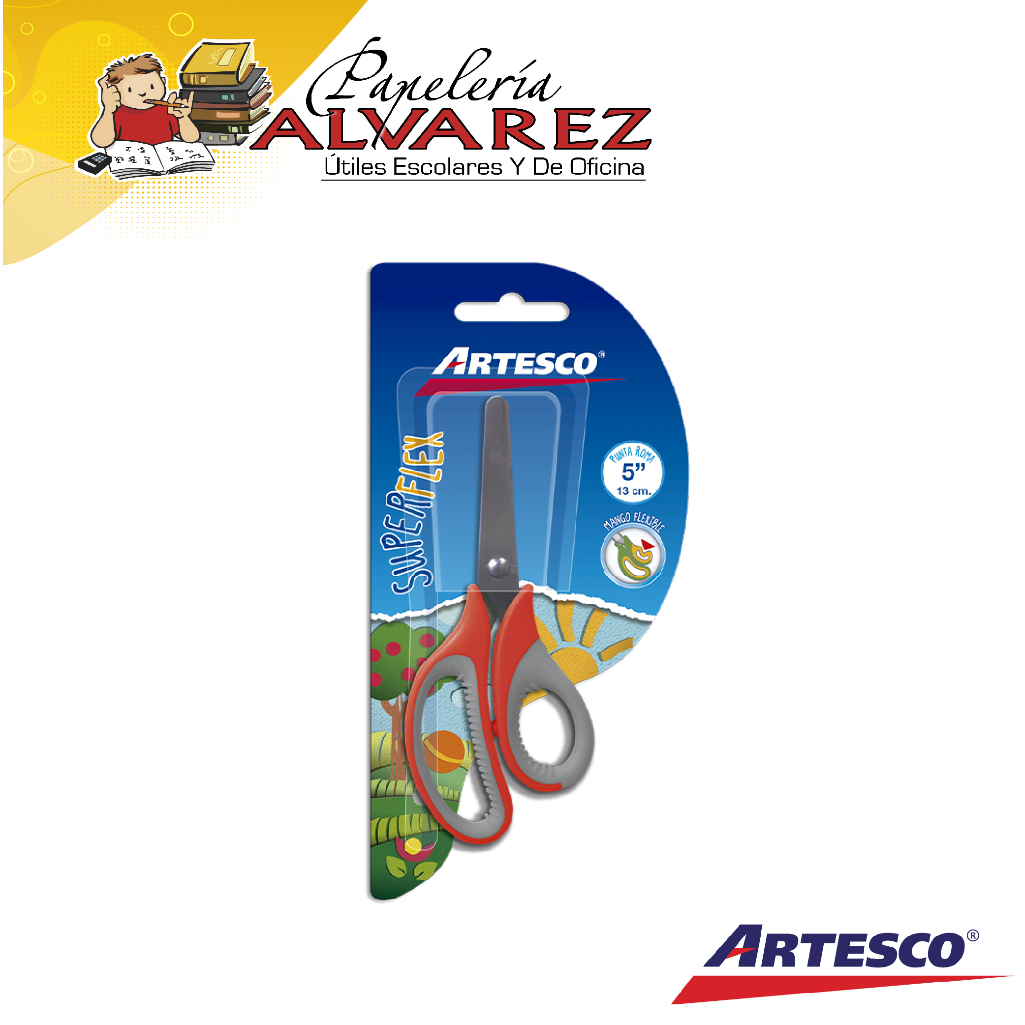 TIJERA ARTESCO SUPERFLEX 6.5