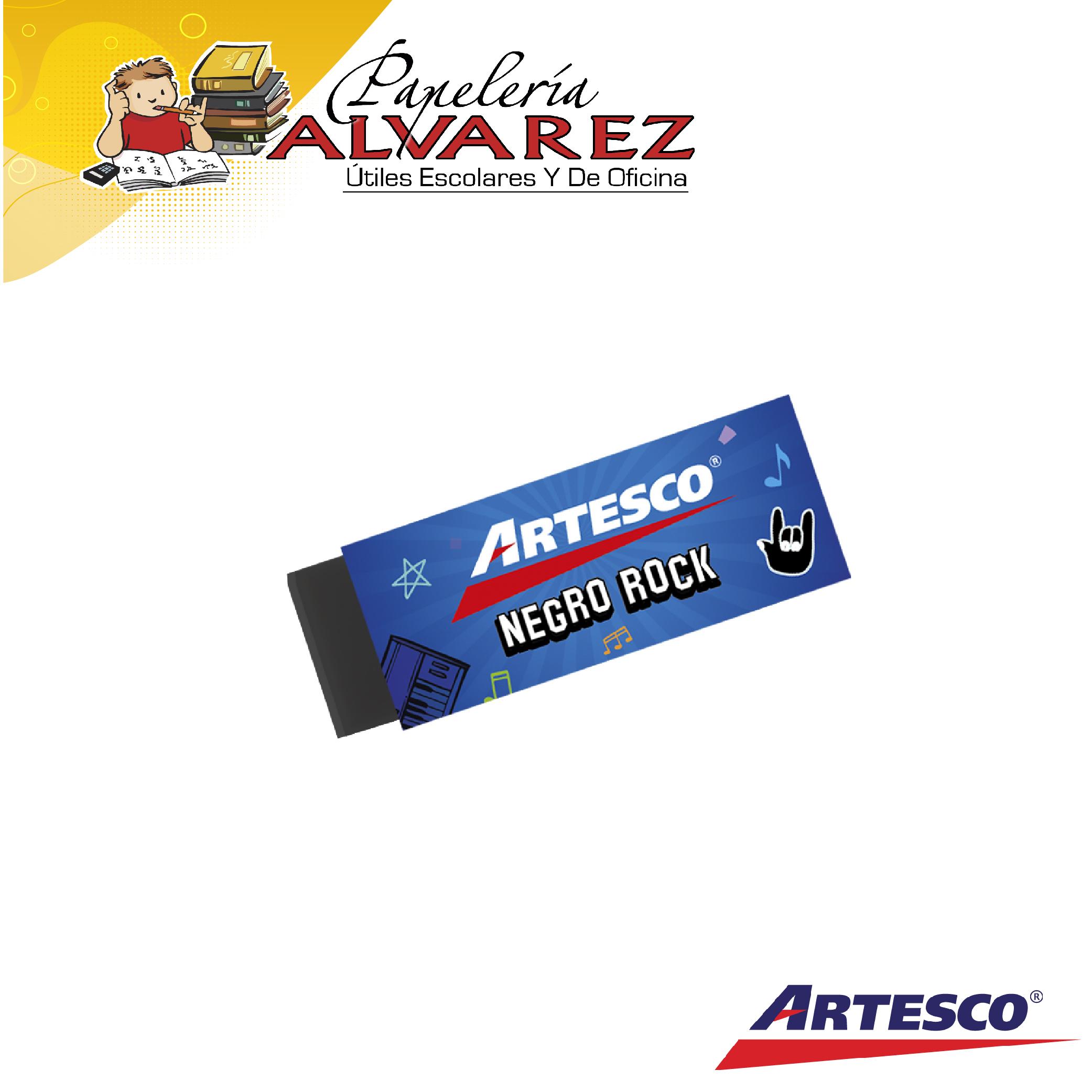 BORRADOR ARTESCO NEGRO ROCK unidad-