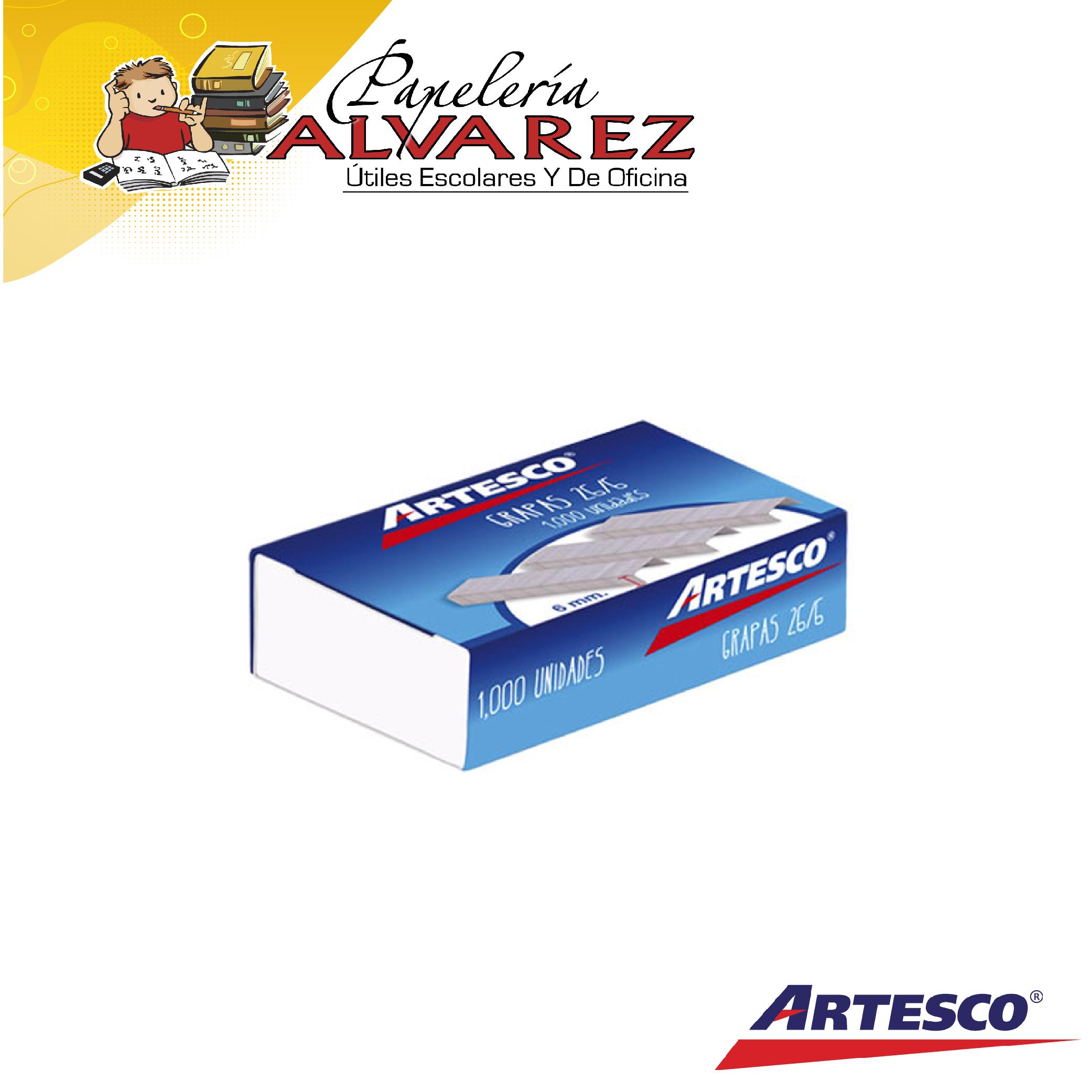 GRAPA COSEDORA ARTESCO GALVANIZADA X1000