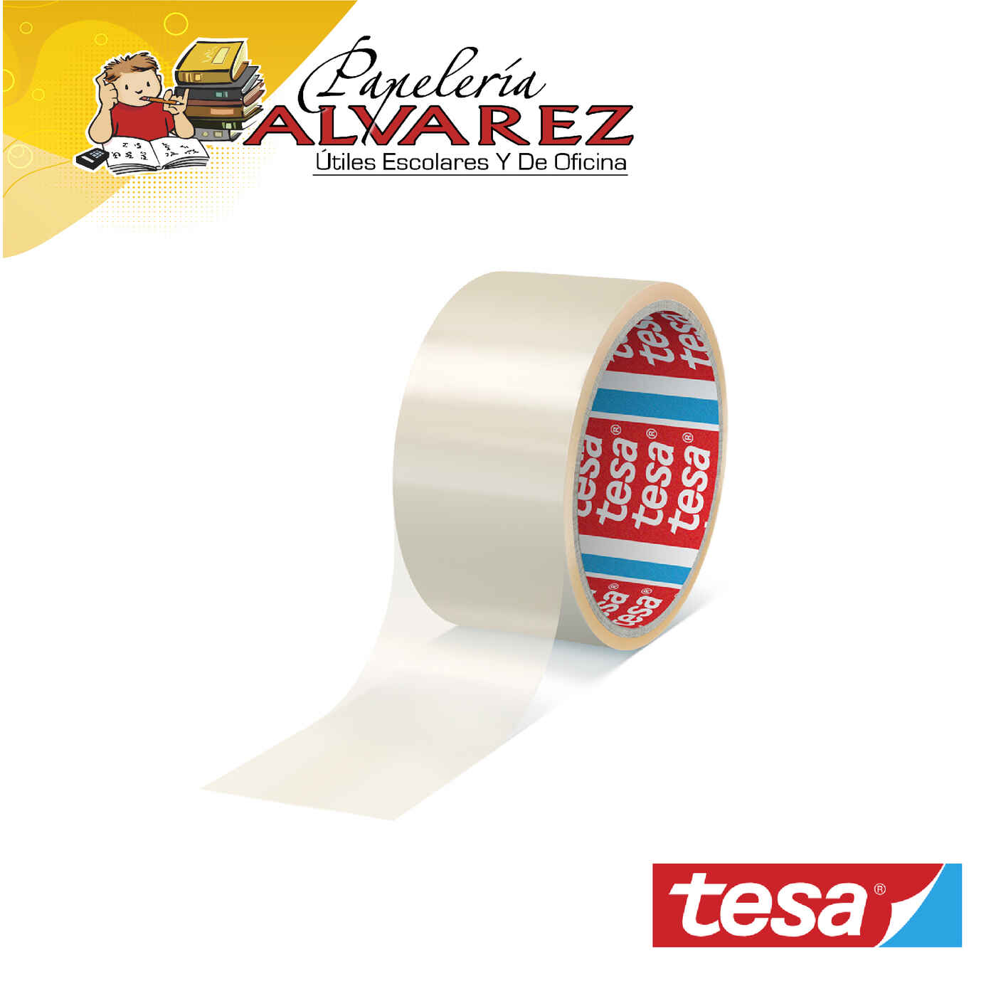 CINTA EMPAQUE TESA 48 X 40 MTS (2