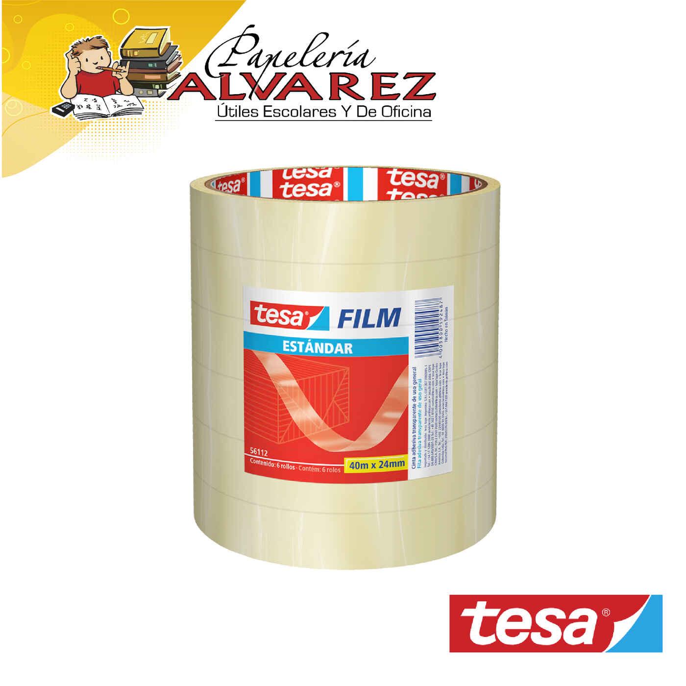 CINTA TESA 24MM X 40 MTS (IMPRONTA) TRANSPARENTE