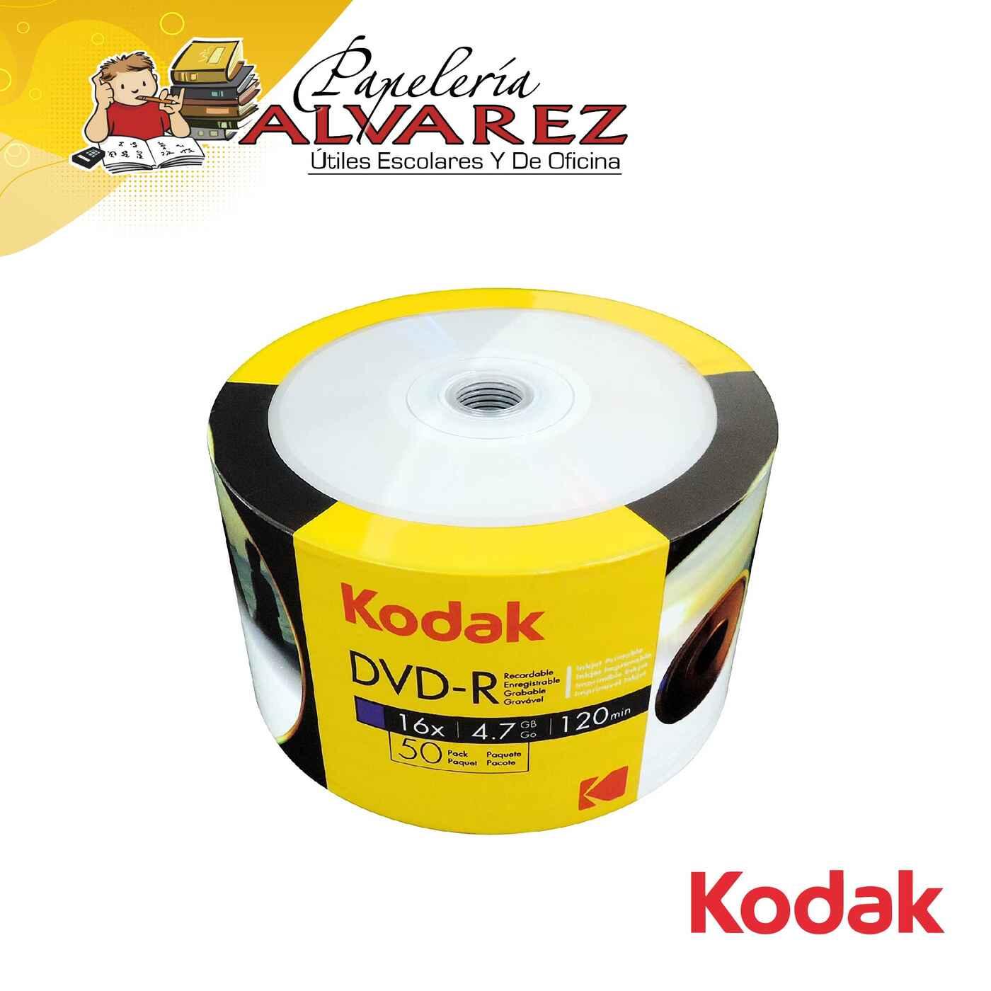 DVD KODAK X 50 DVD-R 16x 4.7GB 120min