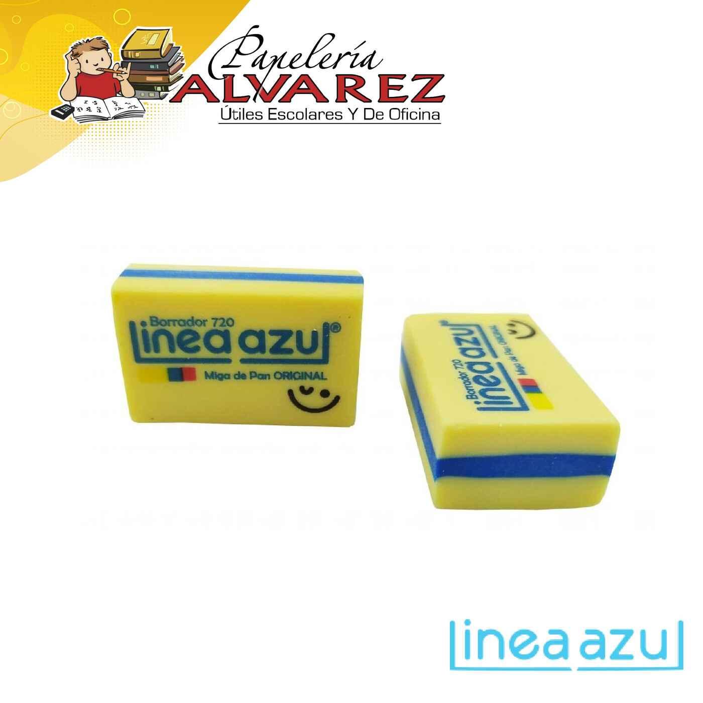 BORRADOR LINEA AZUL MIGA PAN CREMA 720