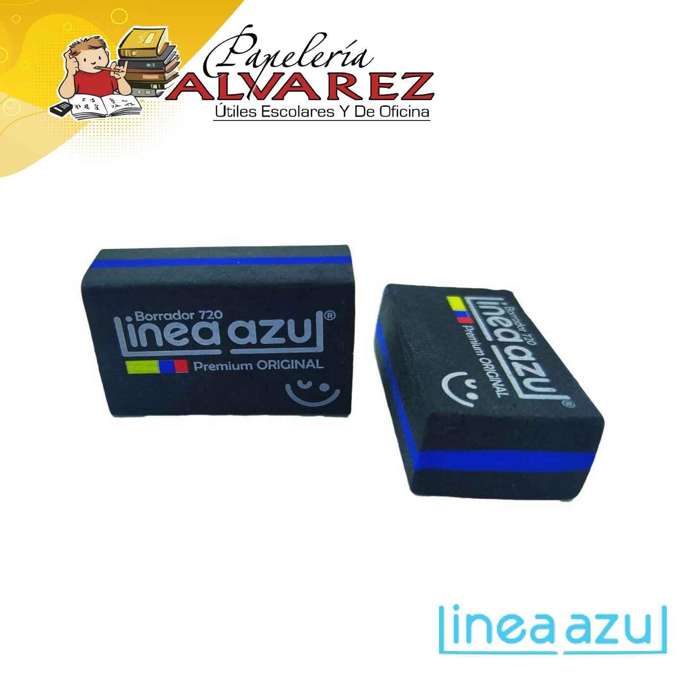 BORRADOR LINEA AZUL PREMIUM NEGRO 720