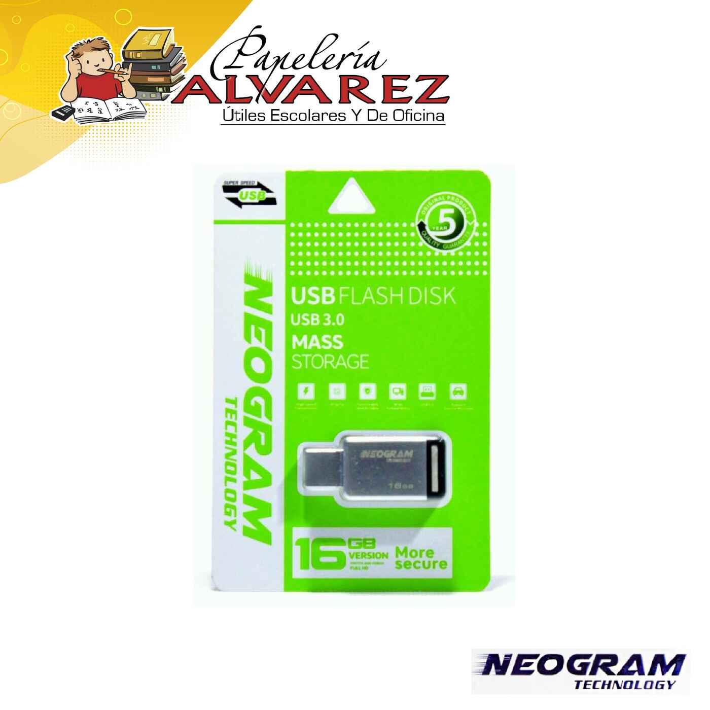 MEMORIA NEOGRAM USB 16GB