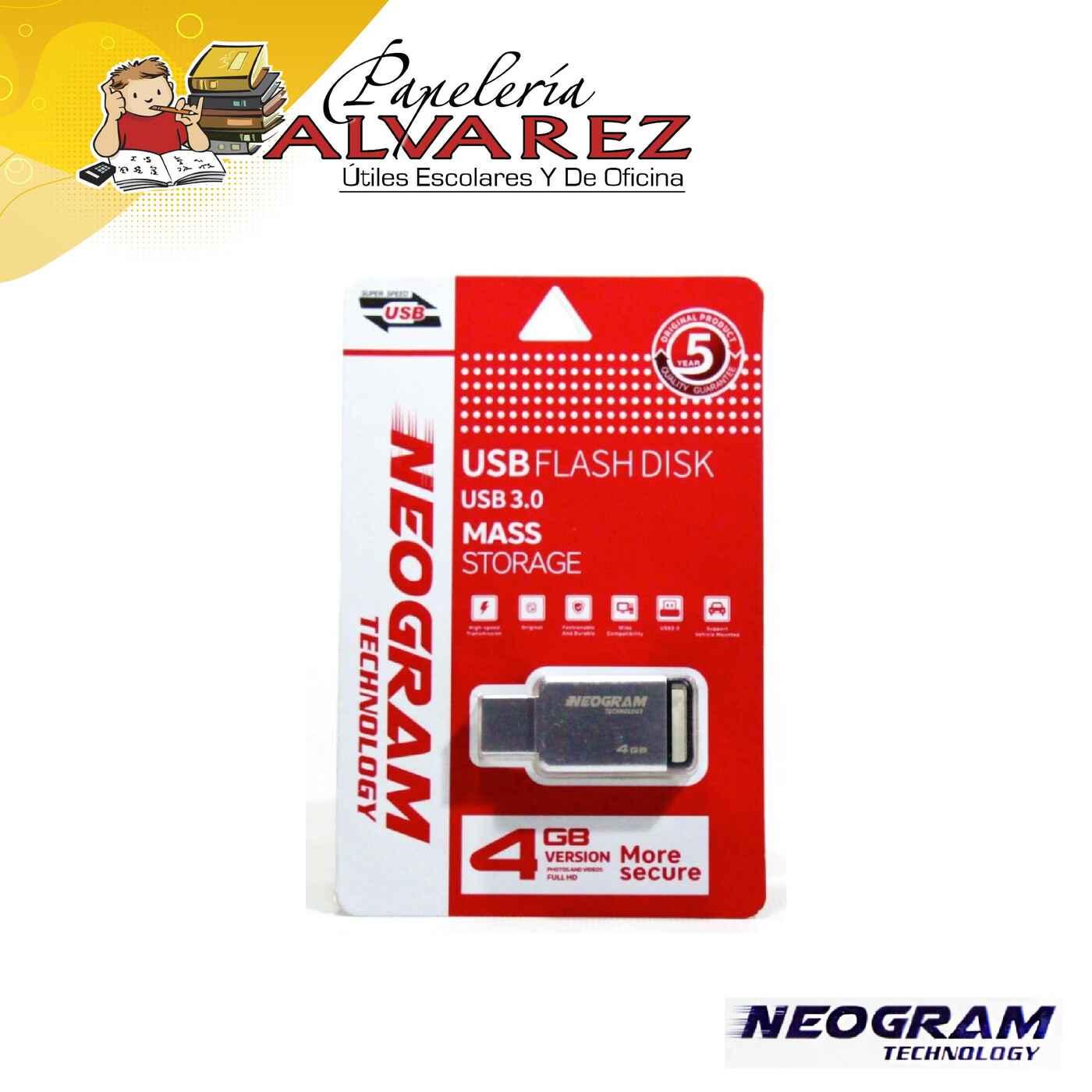 MEMORIA NEOGRAM USB 4GB