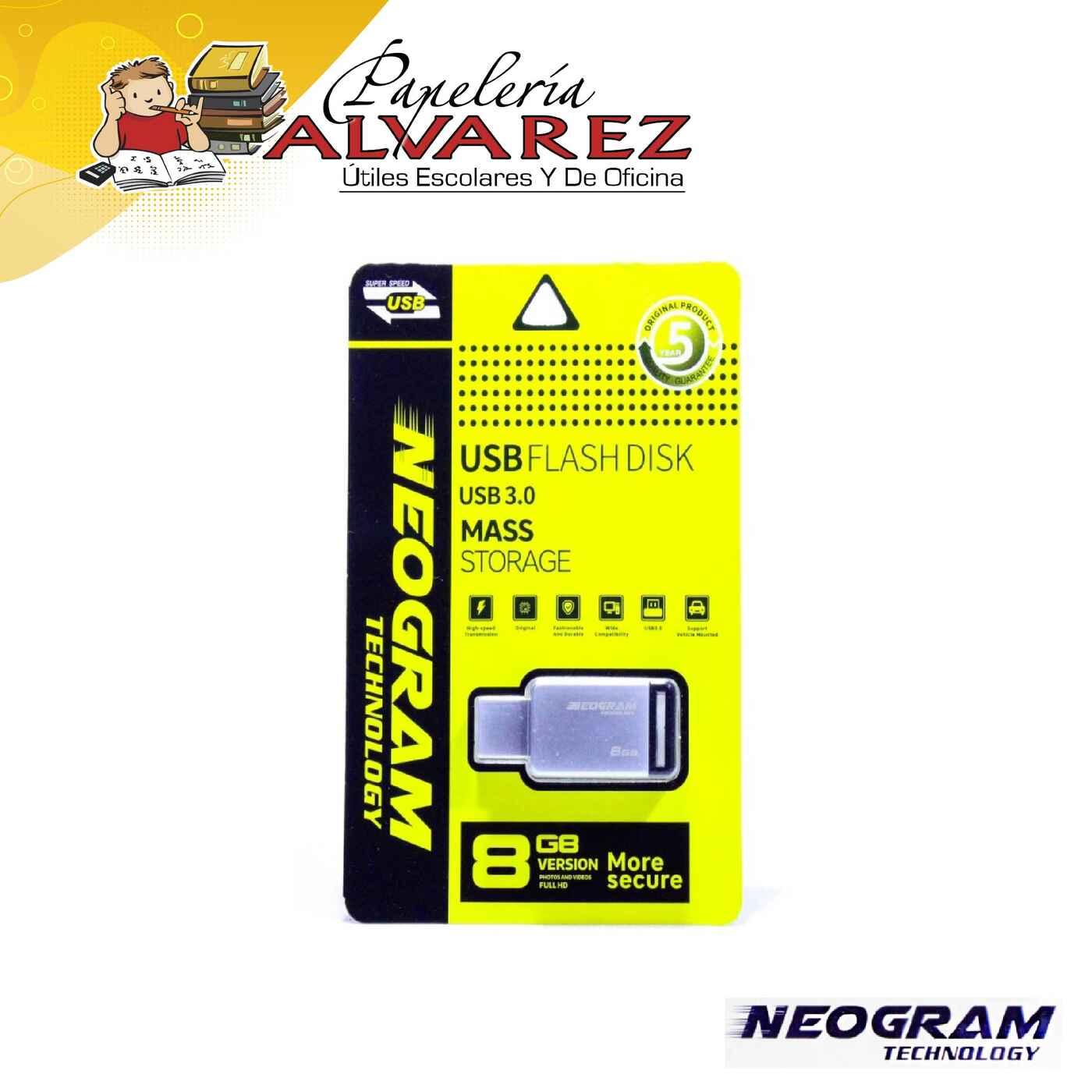 MEMORIA NEOGRAM USB 8GB