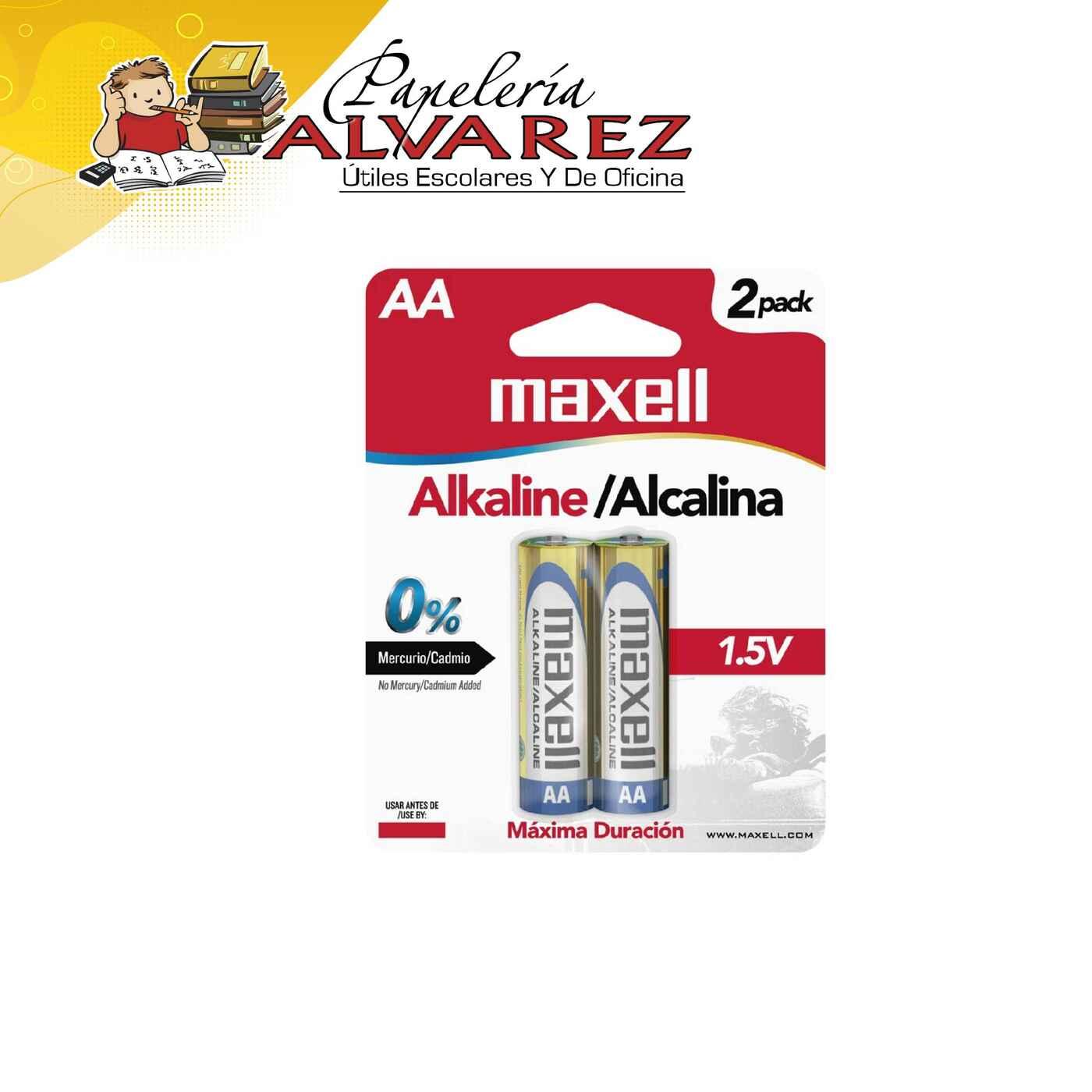 PILA MAXELL AA ALKALINA X 2 LR06