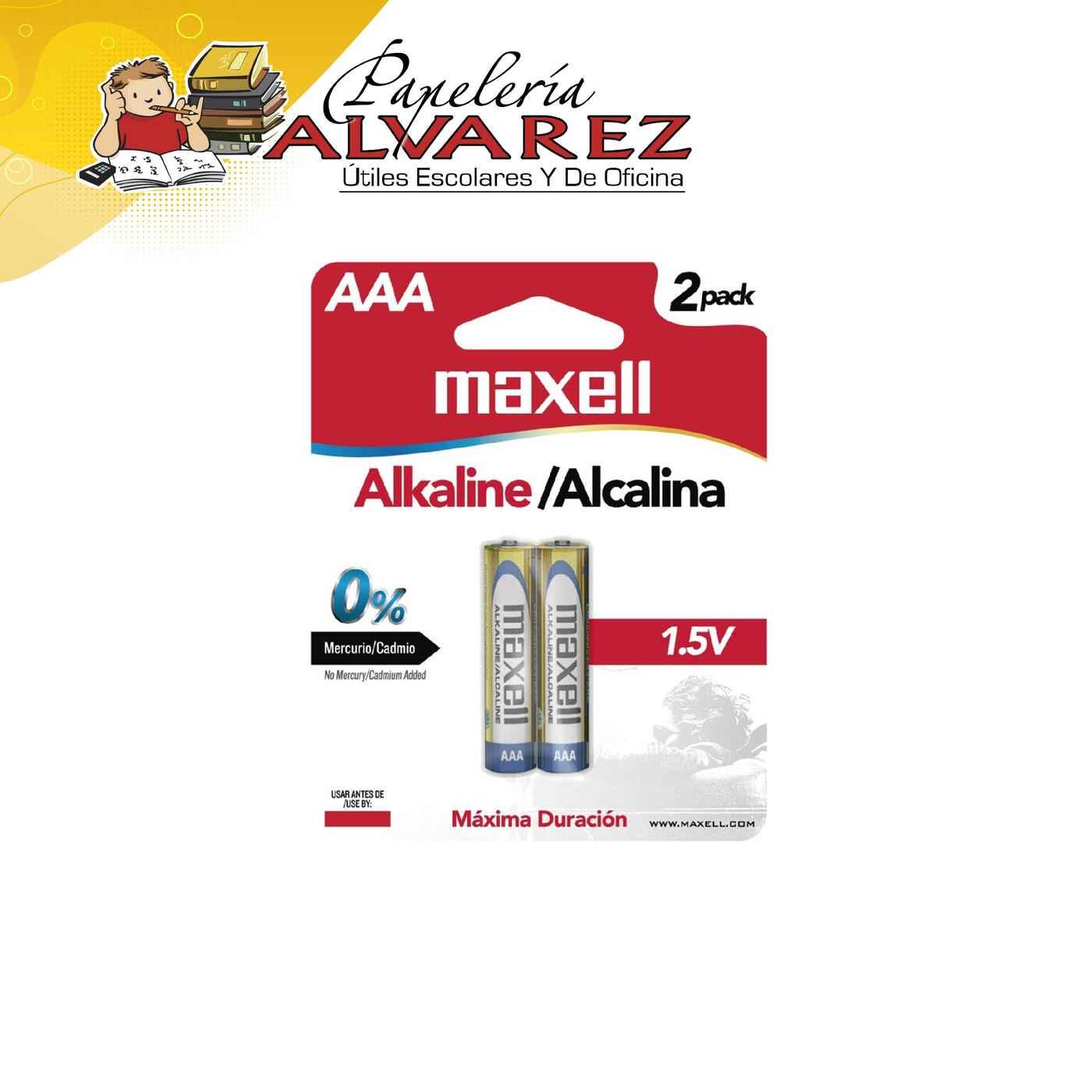 PILA MAXELL AAA ALKALINA X 2 LR03