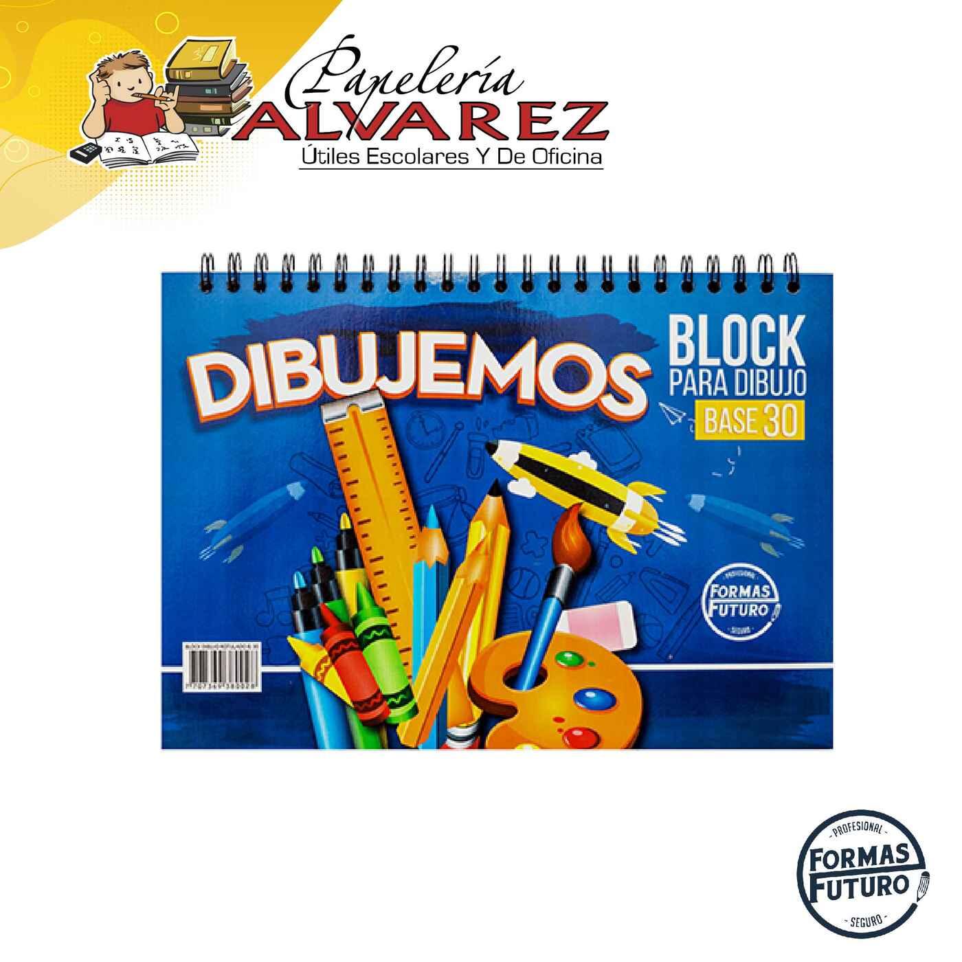 BLOCK BASE 30 ARGOLLADO FORMA FUTURO PQ
