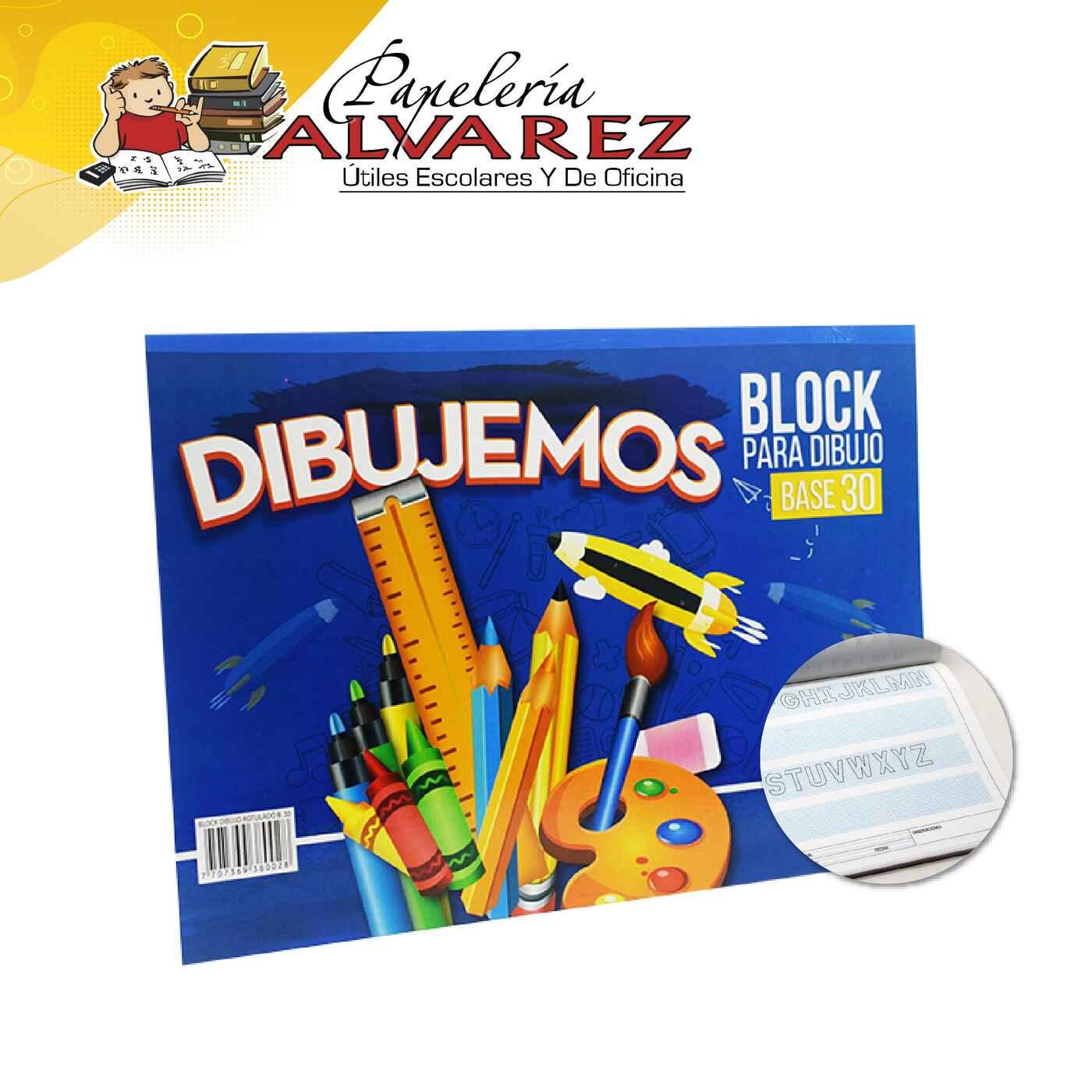 BLOCK BASE 30 CON MARGEN FUTURO ROTULADO