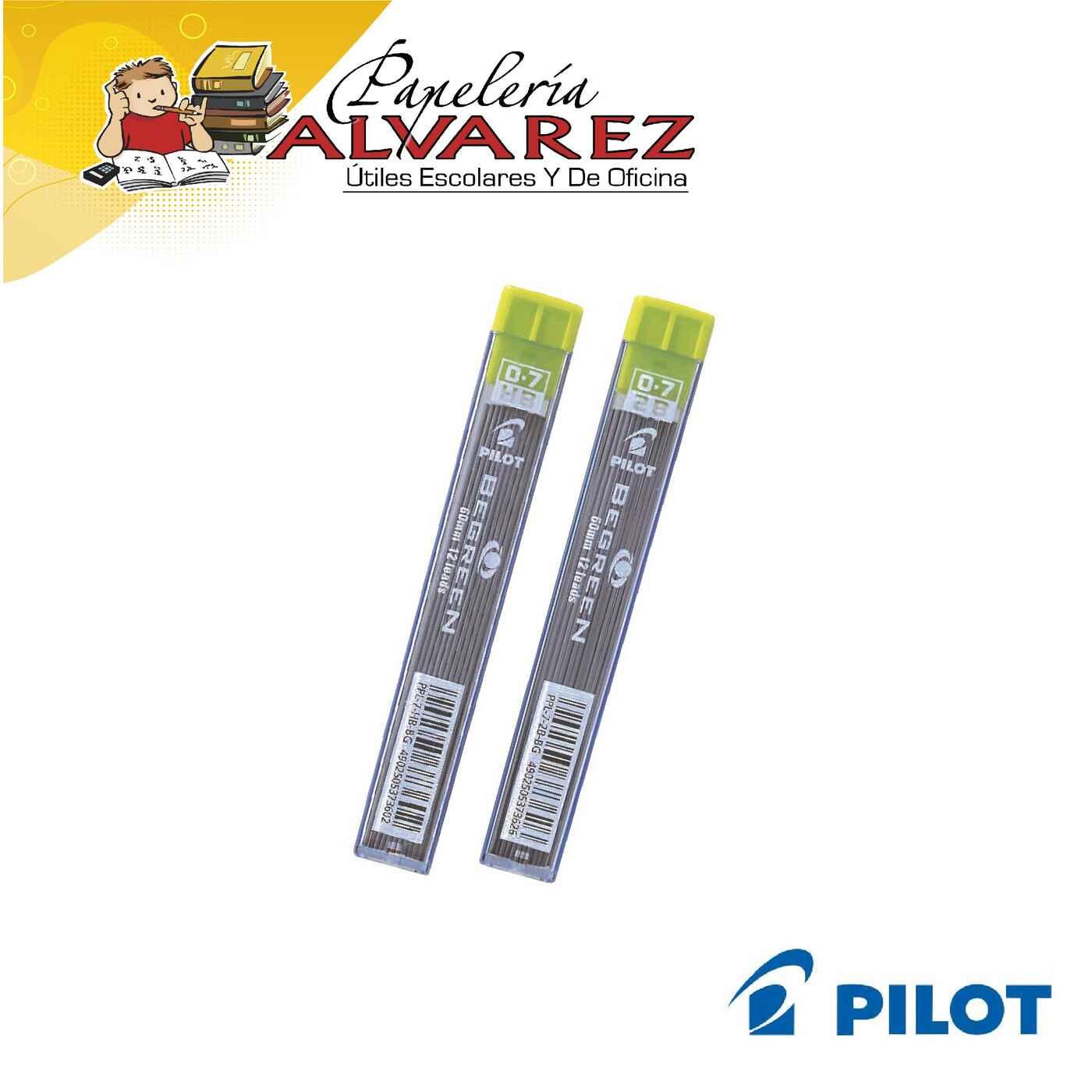 MINAS PILOT 0.7 2B/HB BE GREEN