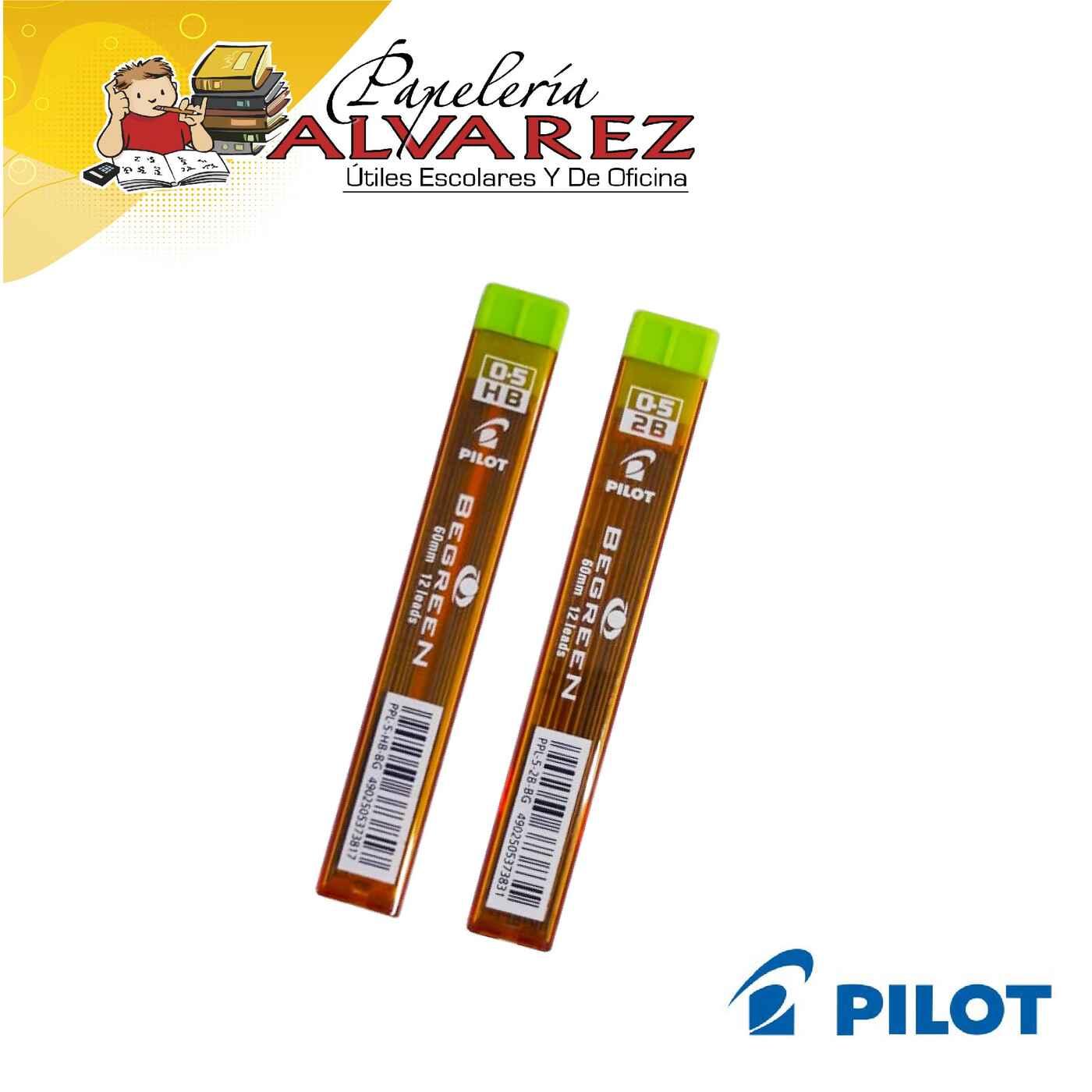 MINAS PILOT 0.5 2B/HB BE GREEN
