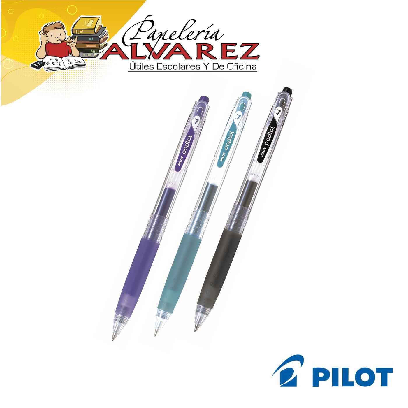 LAPICERO PILOT RETRACTIL 0.7 POP LOL X 3