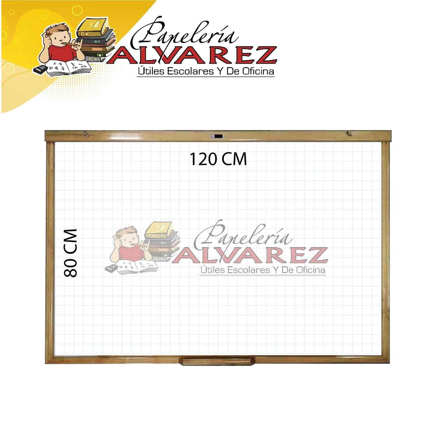 TABLERO XPRESART BLANCO BORRABLE 80X120