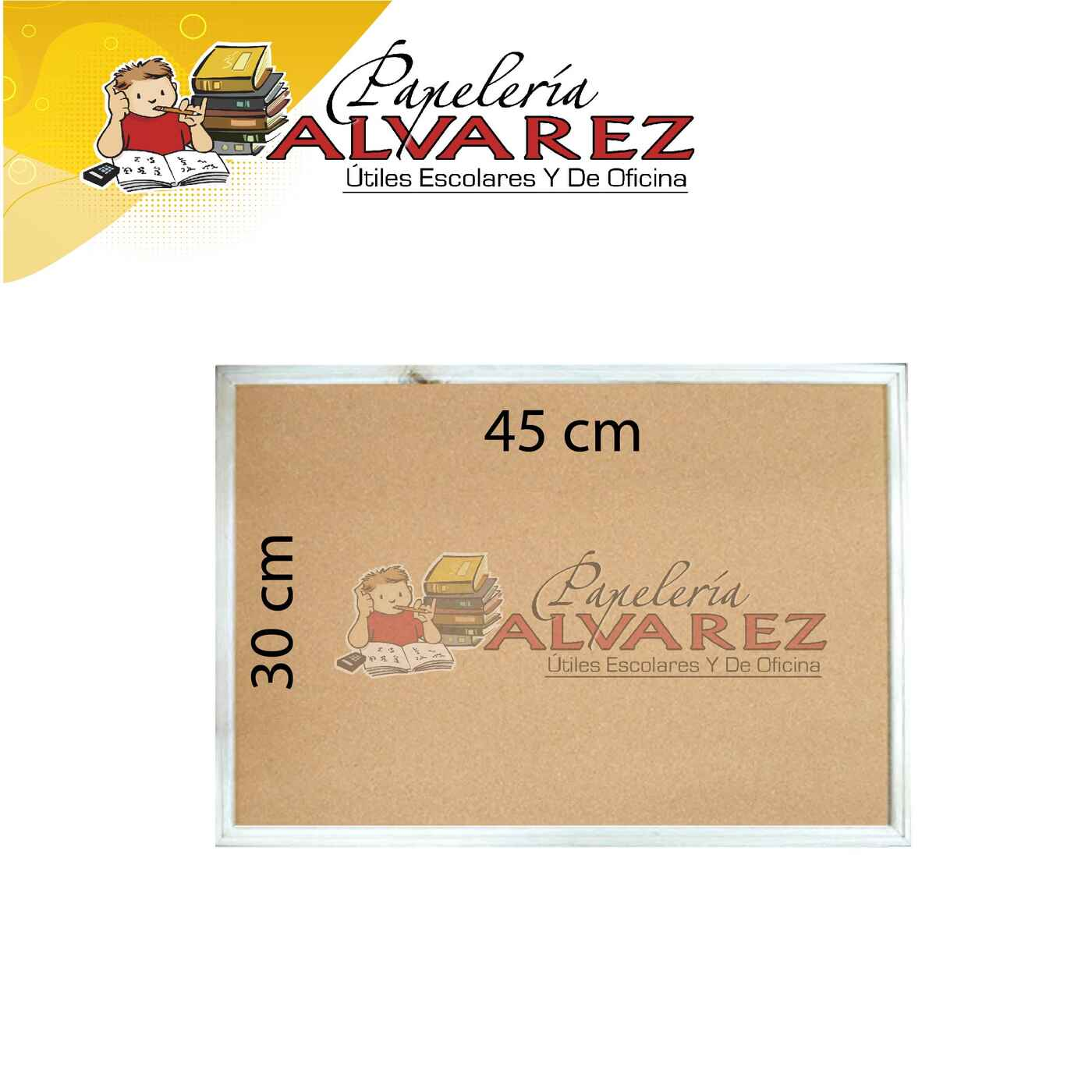 TABLERO XPRESART CORCHO 30X45