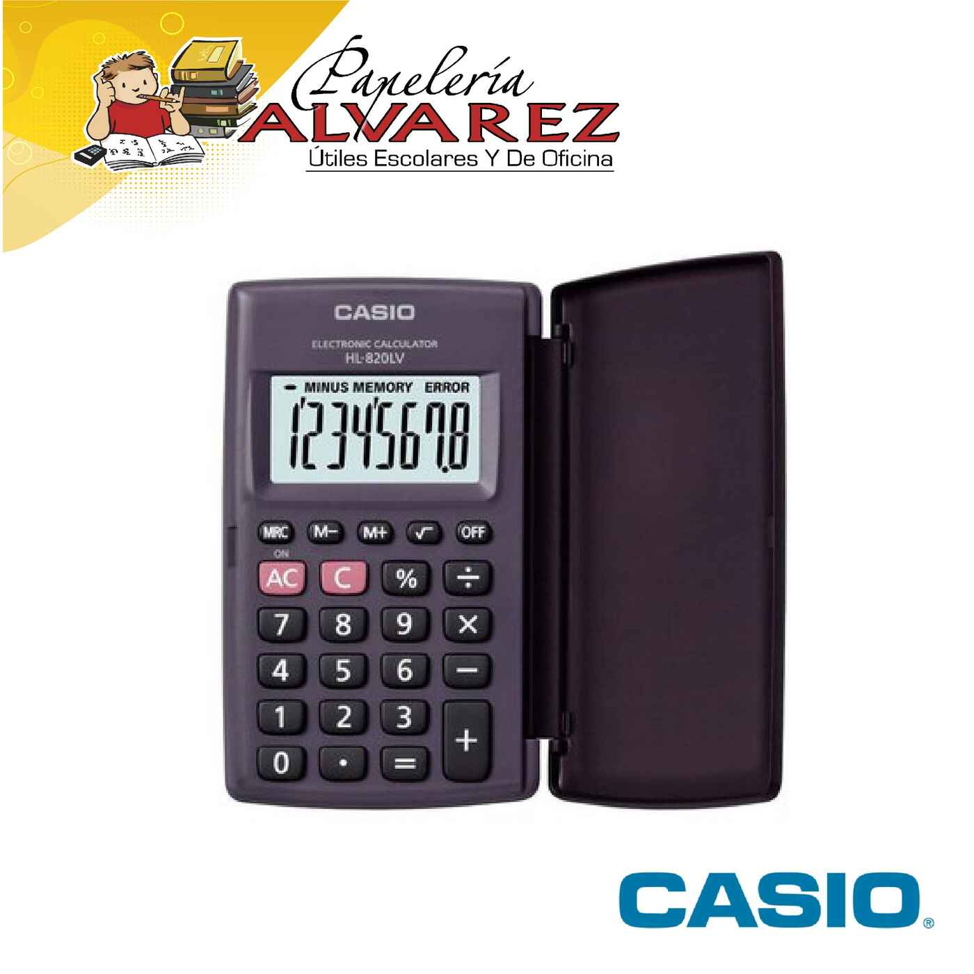 CALCULADORA CASIO HL-820LV