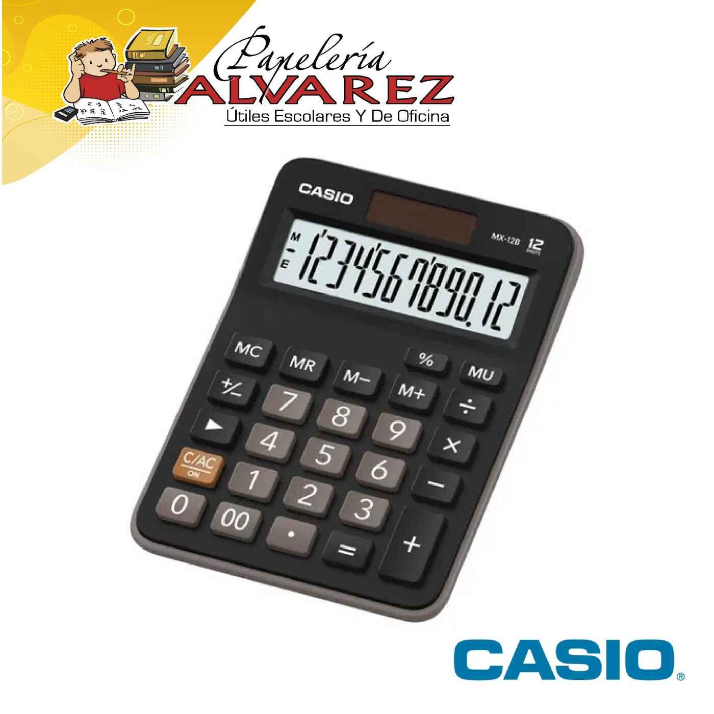 CALCULADORA CASIO MX-12B 12 DIGITOS