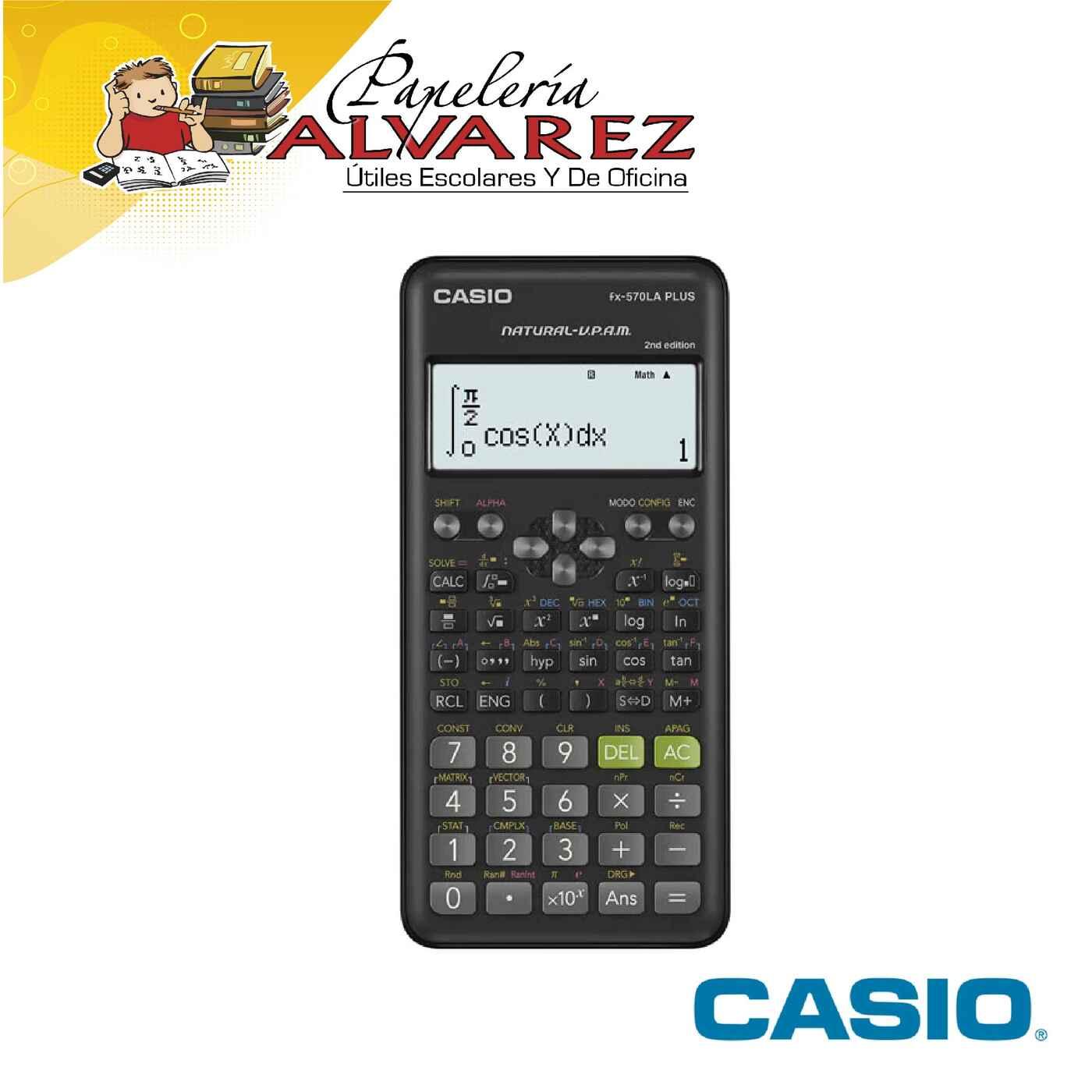 CALCULADORA CASIO CIENTÍFICA FX-570LA PLUS