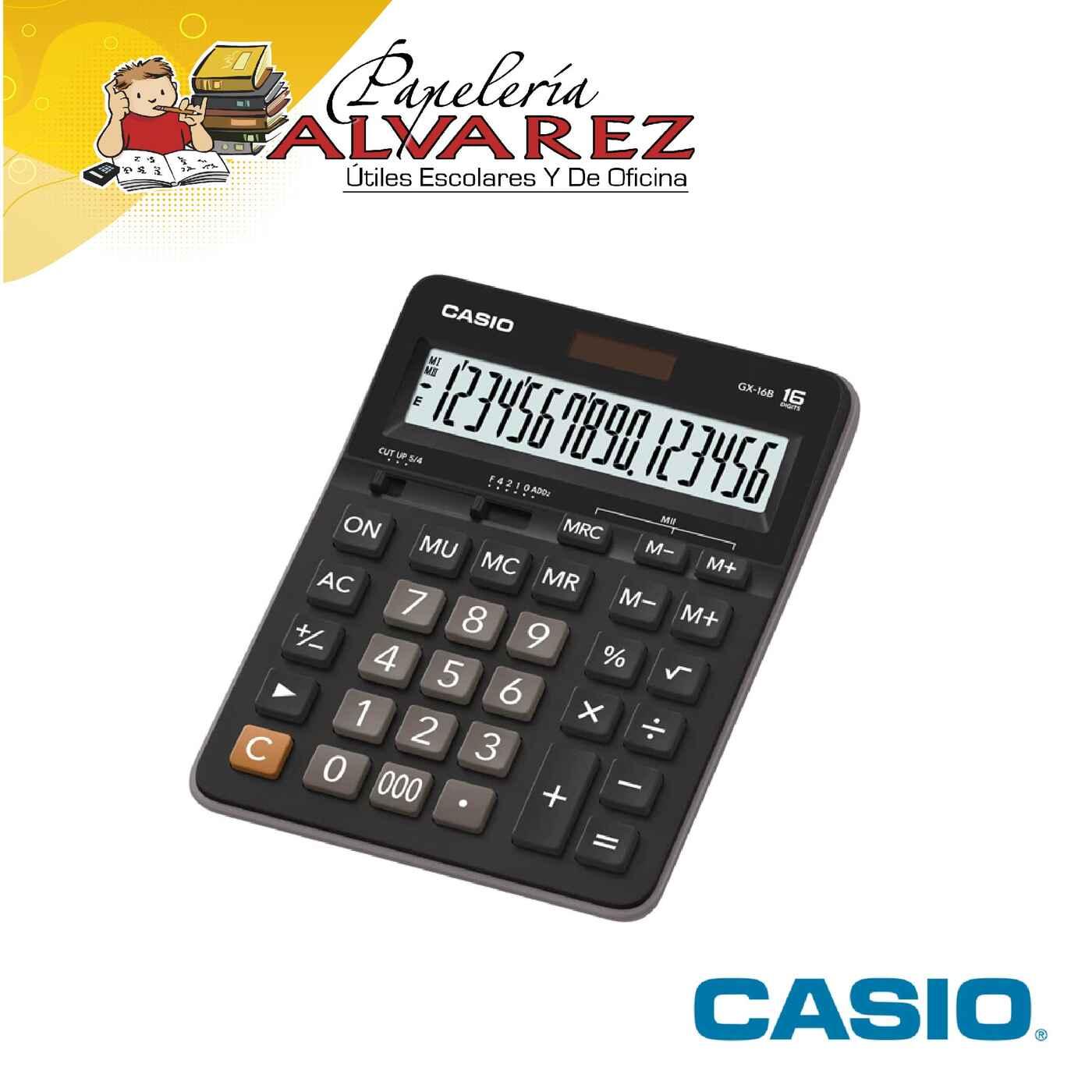 CALCULADORA CASIO GX-16B 16 DIGITOS