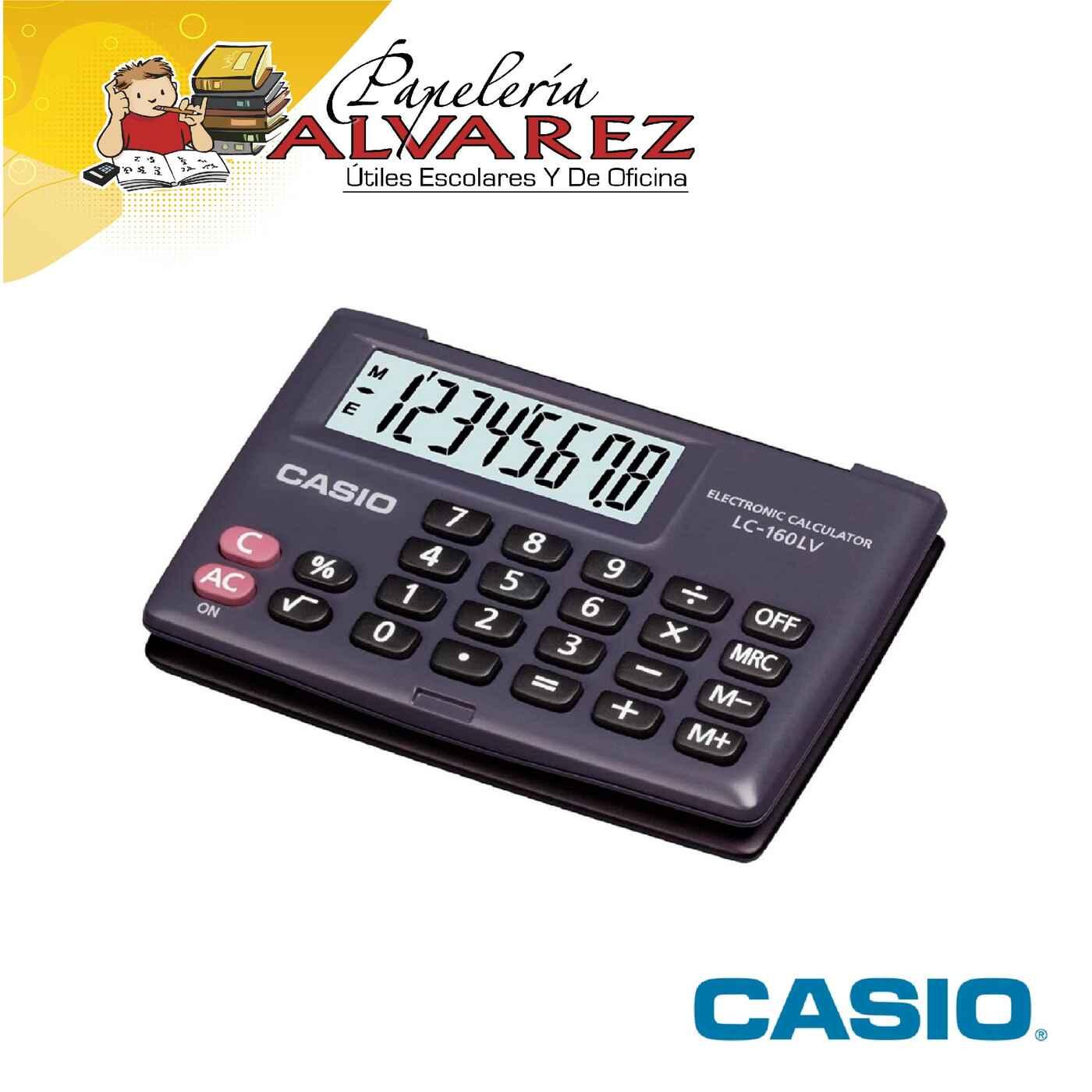 CALCULADORA CASIO LC 160LV