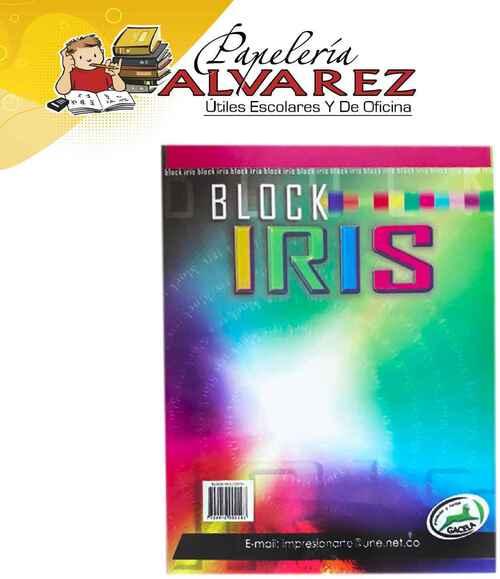 BLOCK IRIS CARTA ECONÓMICO - 32 HOJAS