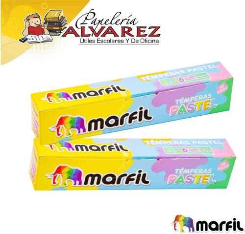 TEMPERA MARFIL X 6 PASTEL